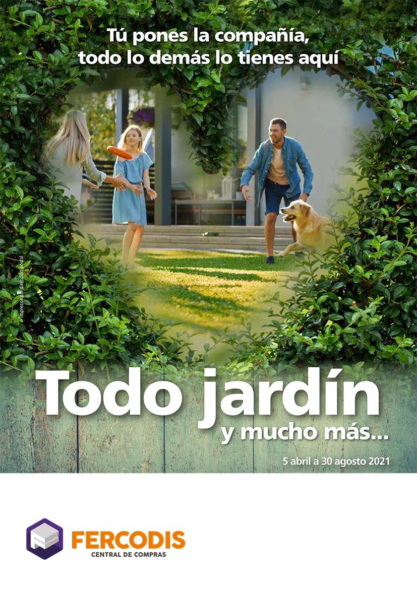 Folleto Jardín 2021